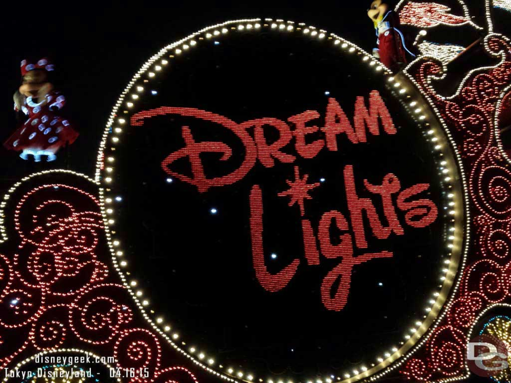 #TokyoDisneyland Electrical Parade Dream Lights