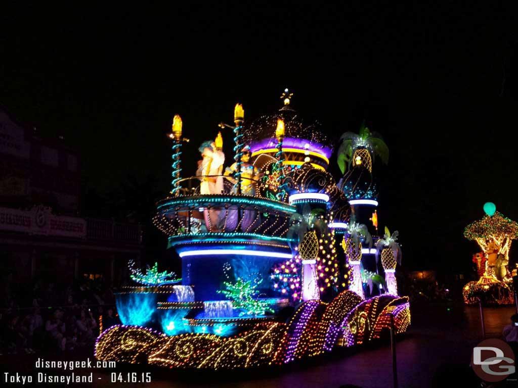 Aladdin& Jasmine – #TokyoDisneyland Electrical Parade Dreamlights