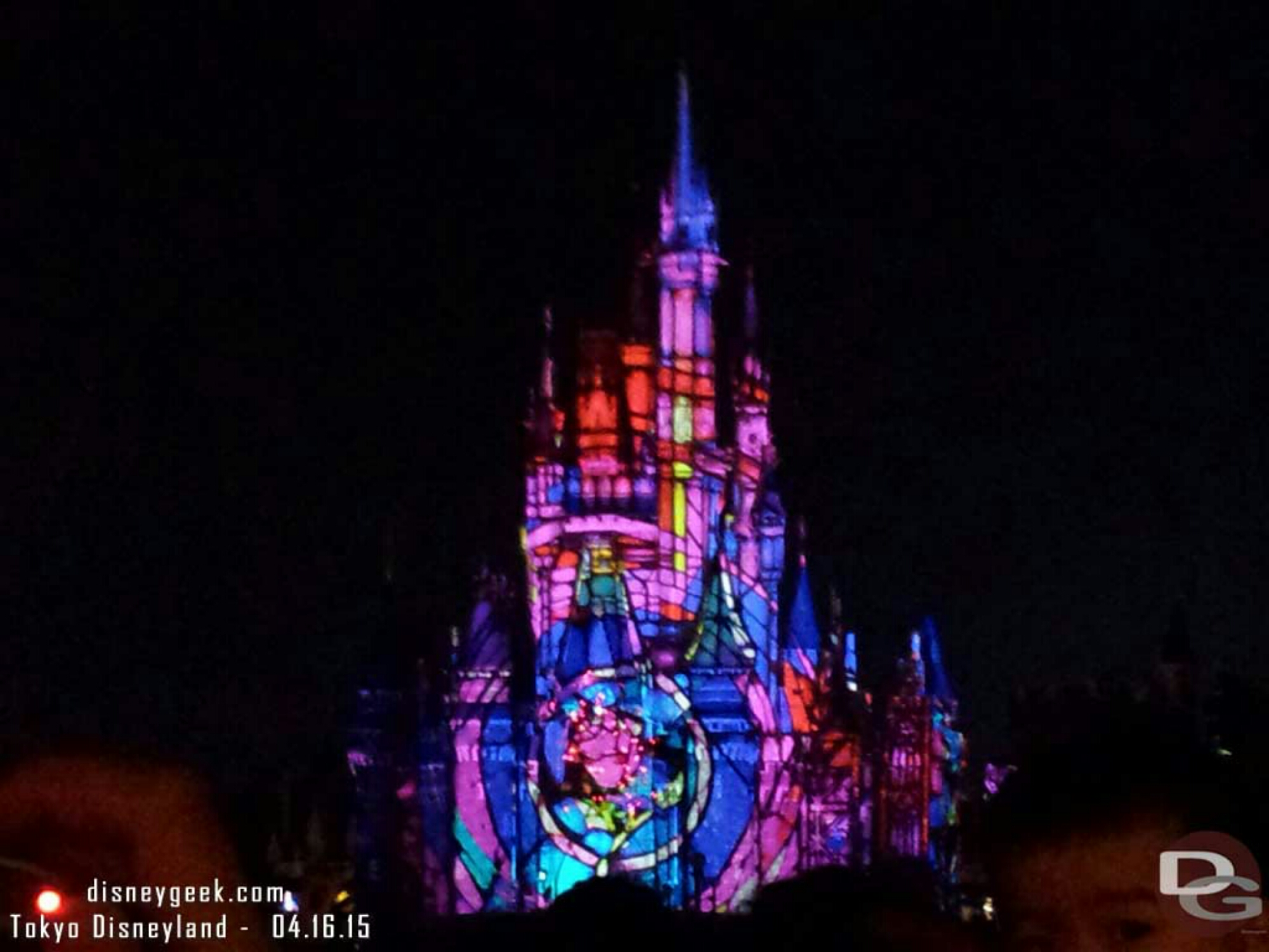 Closed out my evening with Once Upon a Time #TokyoDisneyland