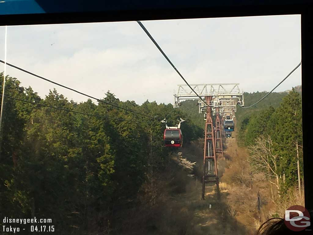 Cable car to Owakudani #Japan