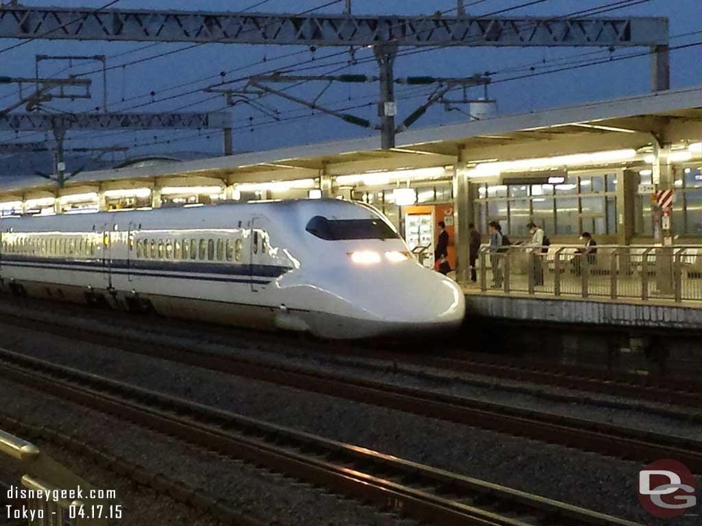 Shinkansen Bullet Train back to #Tokyo