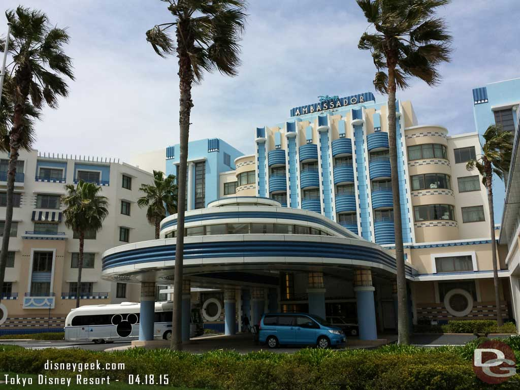 #TokyoDisney Ambassador Hotel front entrance