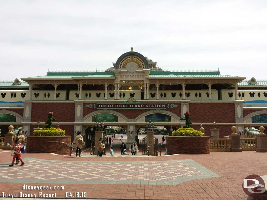 #TokyoDisneyland Station for the Resort Line