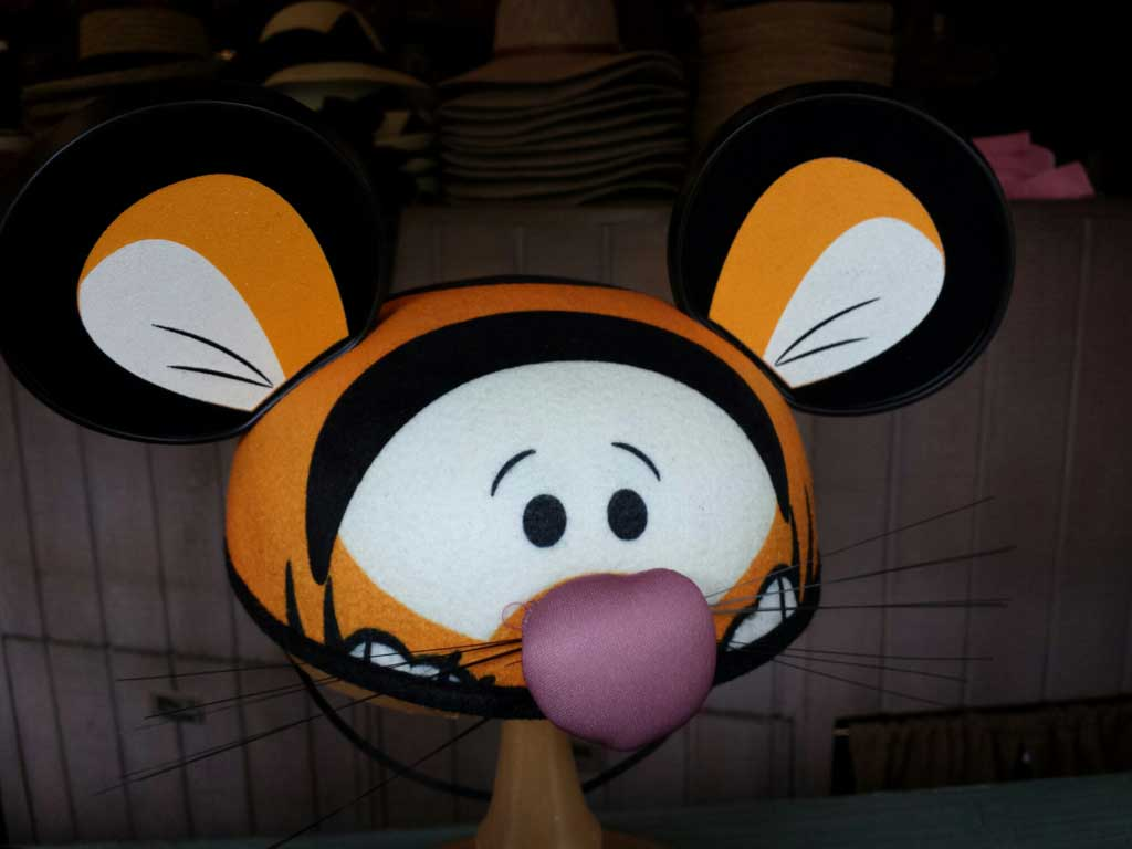 Tigger ears at the Briar Patch #Disneyland