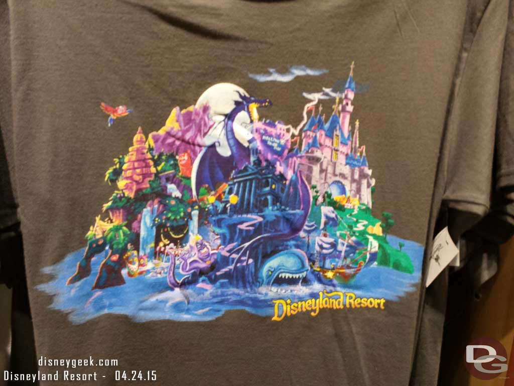 #Disneyland Resort t shirt in World of Disney
