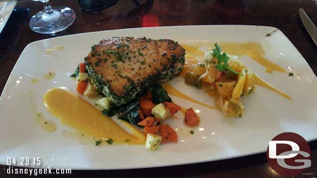 Carthay Circle Restaurant - Swordfish