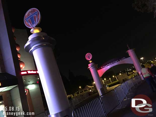 Tomorrowland Premiere Preparations @ 11:30pm on 5/8  (Guest Photo)