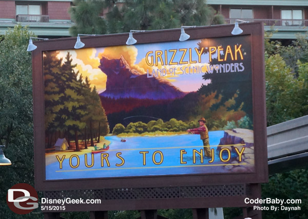 Grizzly Peak Signage