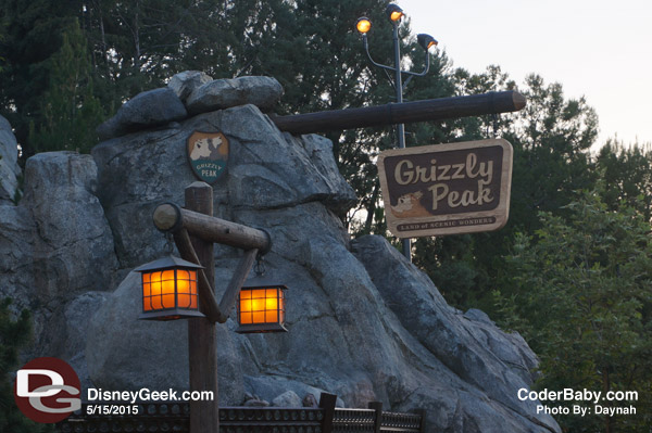 Grizzly Peak at DCA