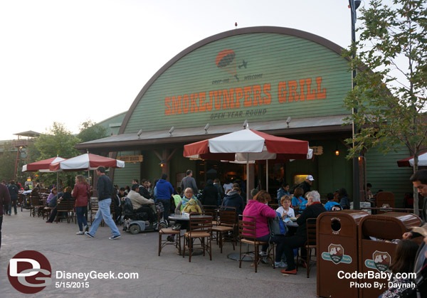 Smokejumpers Grill in Grizzly Peak at DCA
