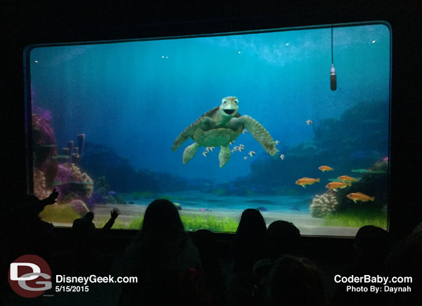 Turtle Talk at Disney California Adventure
