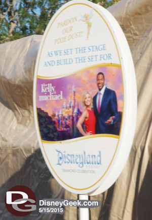 Kelly & Michael will be live at Disneyland next week!