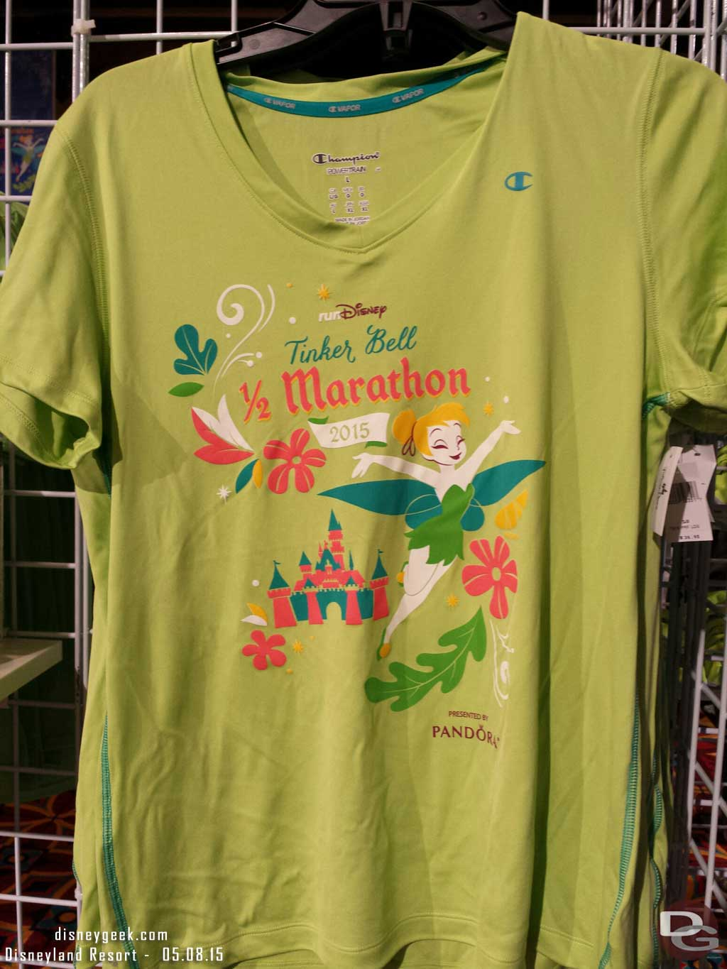 #TinkHalf Marathon T-shirt
