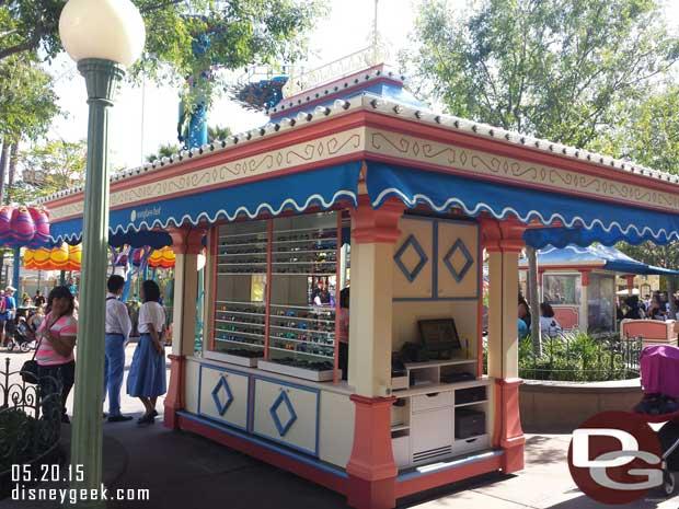 A sunglass hut location in Paradise Pier