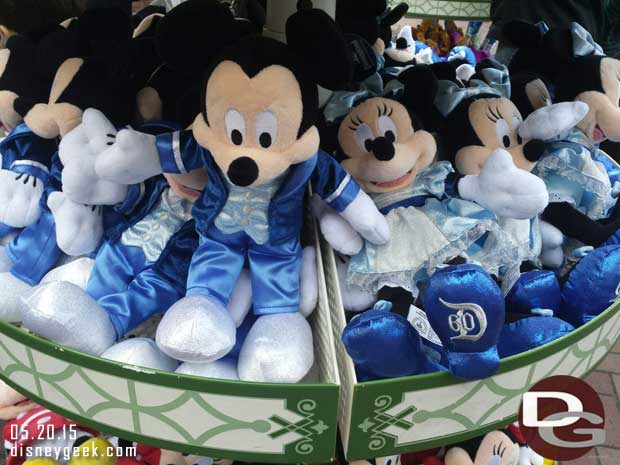#Disneyland60 Mickey & Minnie Plush