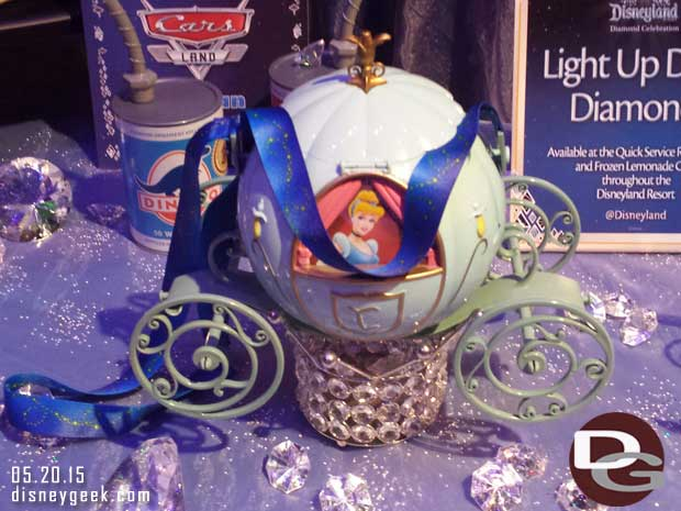 Cinderella popcorn bucket #Disneyland