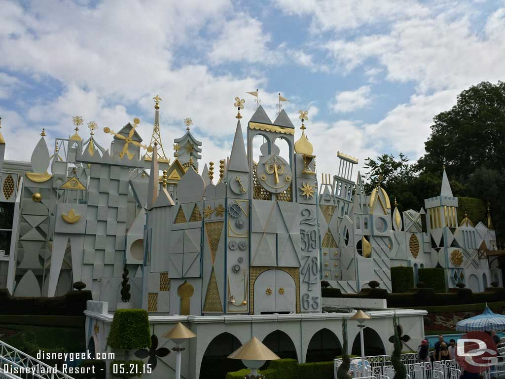 it's a Small World #Disneyland