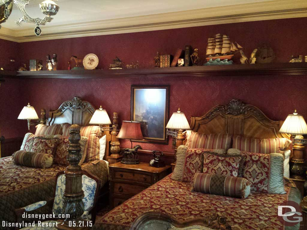 Frontierland room of the Dream Suite #Disneyland60