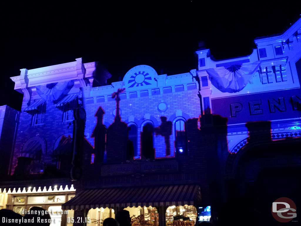 Step in Time Projections – Disneyland Forever Premiere #Disneyland60