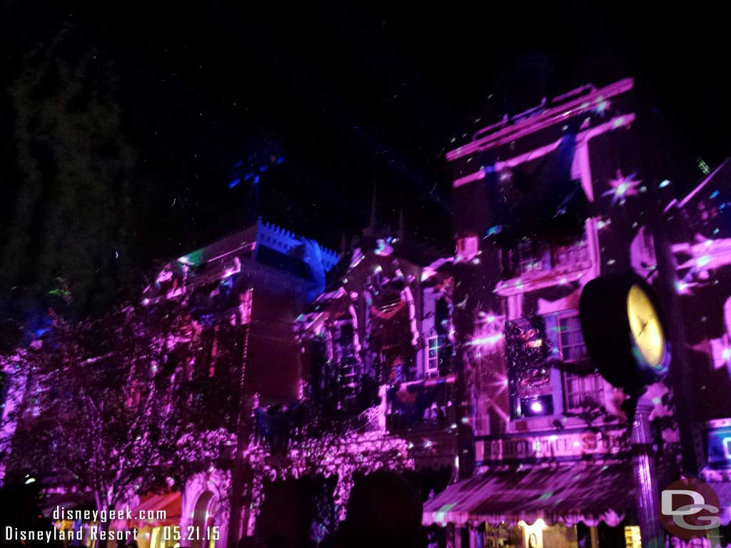 Showfall on Main Street Disneyland Forever Premiere #Disneyland60