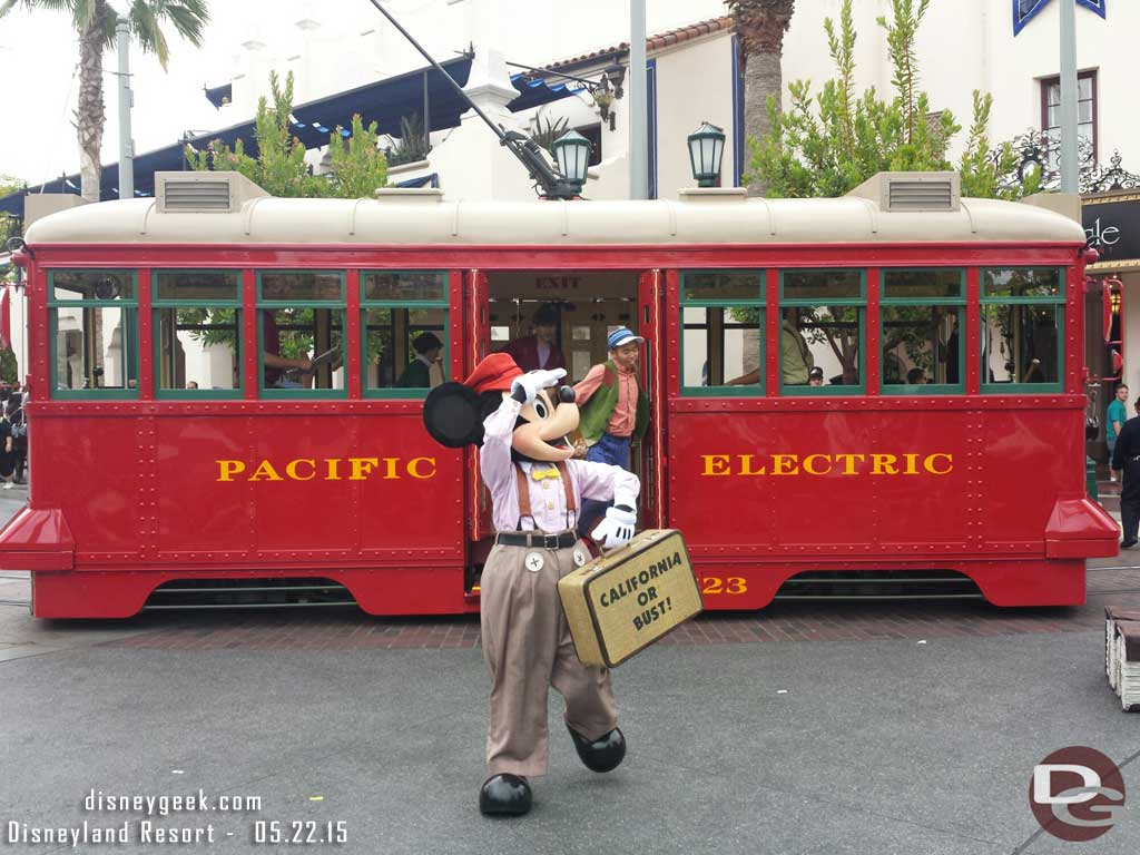 Red Car Trolley News Boys features a new segment (video Tomorrow) #Disneyland60