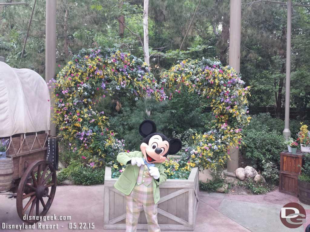Mickey at the Springtime Roundup #Disneyland