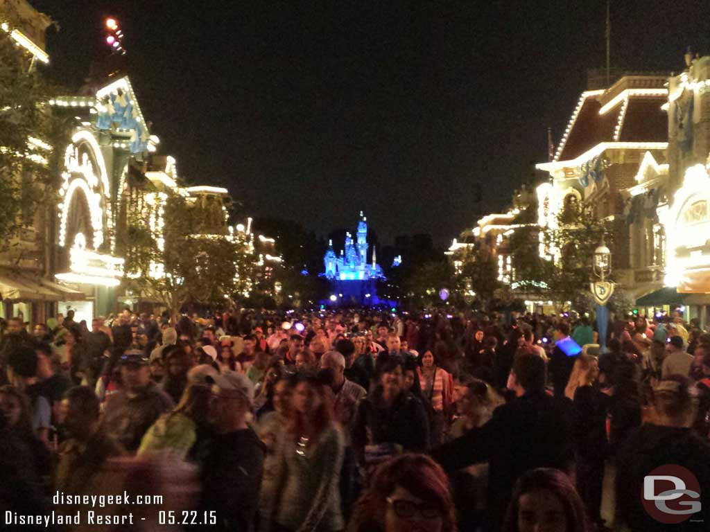 A final look at Main Street USA #Disneyland60 before heading home