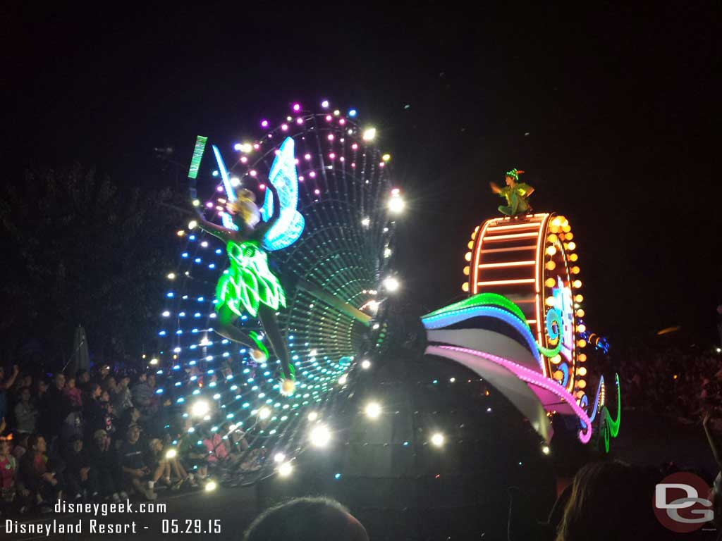#Disneyland60 Paint the Night – Tinker Bell