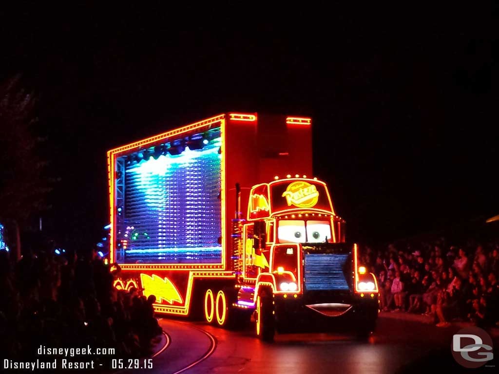 Mack in #Disney #PaintTheNight #Disneyland60