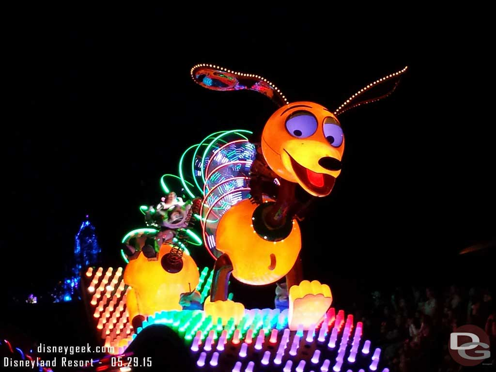 Slinky Dog in #Disney #PaintTheNight #Disneyland60