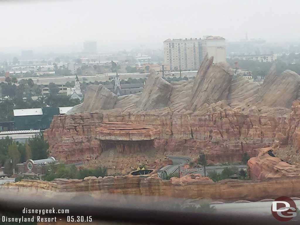 Ornament Valley #CarsLand from the Fun Wheel