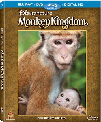 Disneynature Monkey Kingdom on Bluray, Digital HD & Disney Movies Anywhere – September 15, 2015