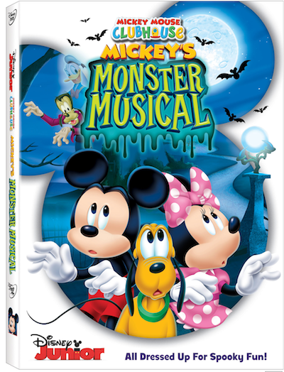 Mickey Mouse Clubhouse: Mickey's Monster Musical  – DVD Release on Sept 8th