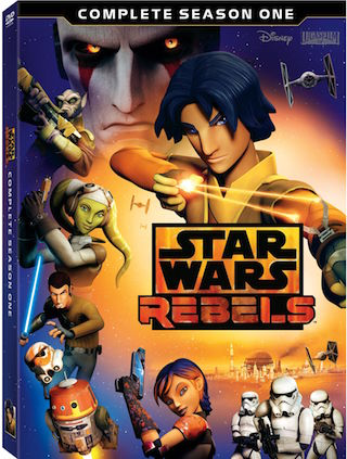 Star Wars Rebels: Complete Season One – On Blu-ray & DVD Sept. 1