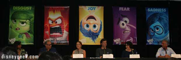 Inside Out Press Conference (Teri's Take)