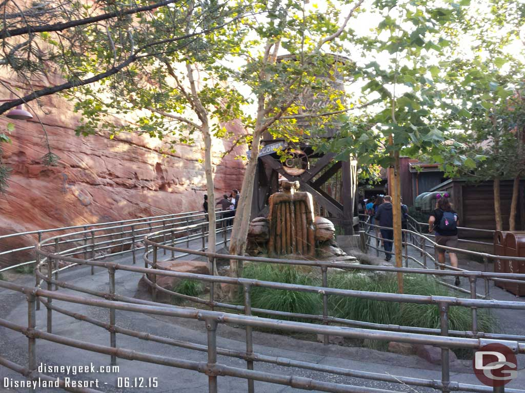 #CarsLand Radiator Springs Racers posted at 60min standby, single rider was 10 min