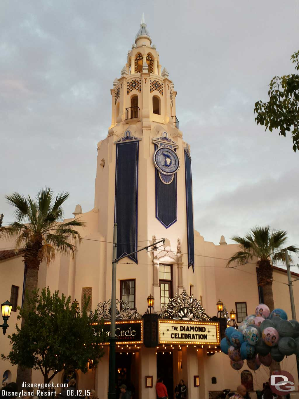 Carthay Circle Restaurant #Disneyland60