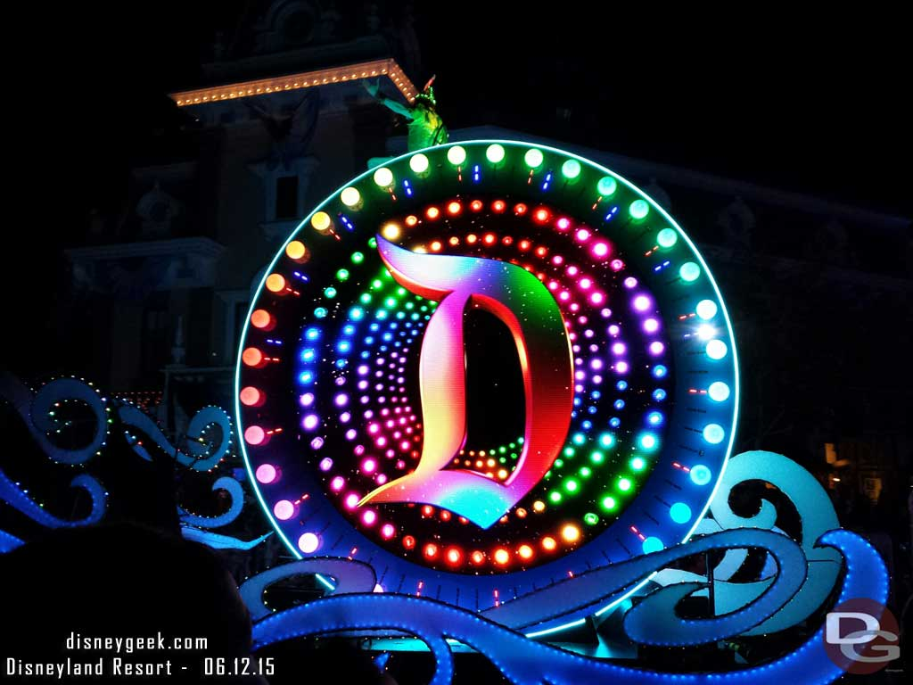 #PaintTheNight Parade – drum  #Disneyland60