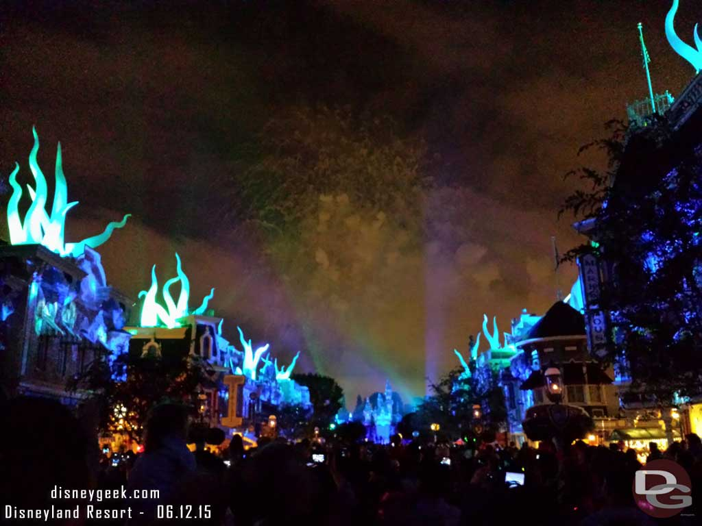 #DisneylandForever Under the Sea from Main Street USA #Disneyland60