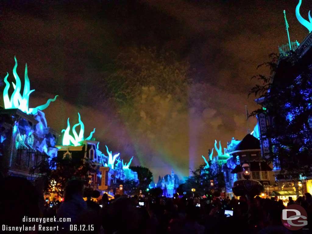 #DisneylandForever Under the Sea from Main Street USA #Disneyland60