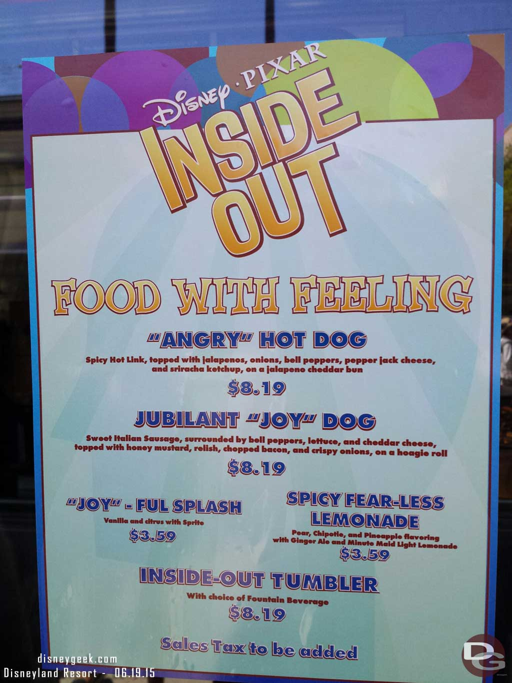 Award Wieners has added #InsideOut items