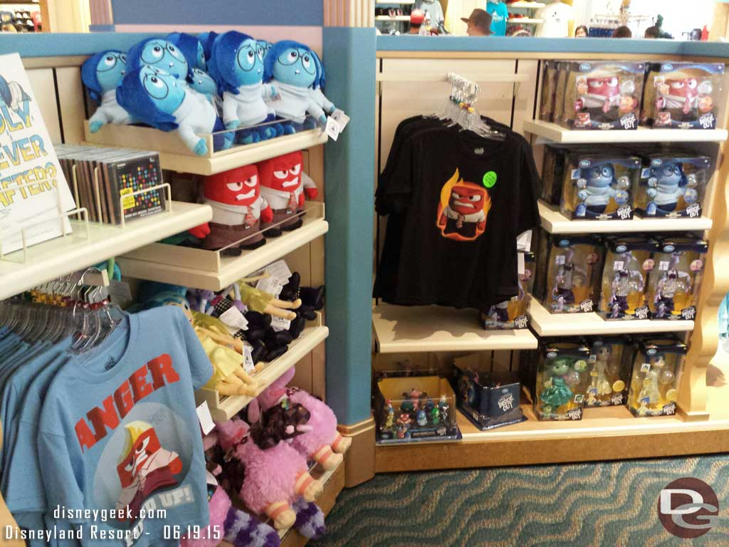 #InsideOut merchandise in Elias & Co on #BuenaVistsStreet