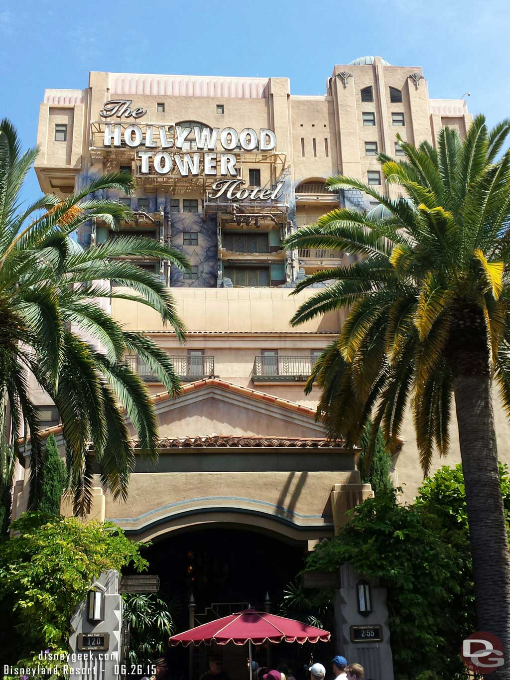 Tower of Terror is posted at 120min and no FastPass distribution going on