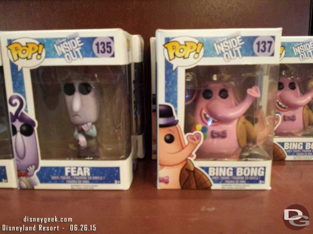 #InsideOut figures in the Emporium #Disneyland