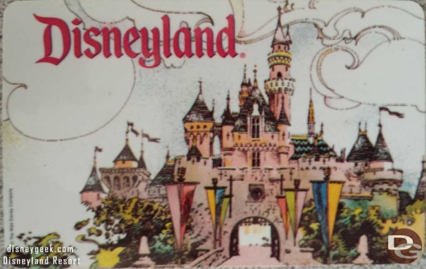 Disneyland Annual Pass 1995-96