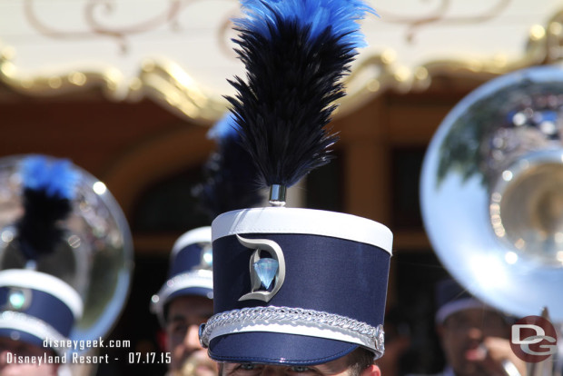 New Disneyland Band Debut - July 17, 2015 - Frontierland 3:05pm performance