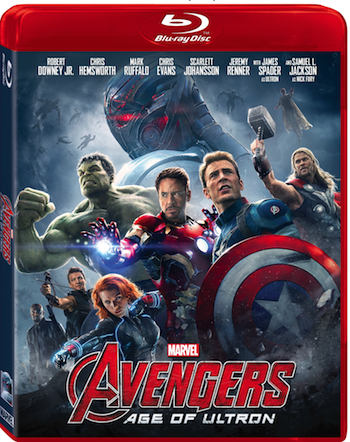 Marvel's Avengers: Age of Ultron on Home Video 10/2/15 & Digital 9/8/15