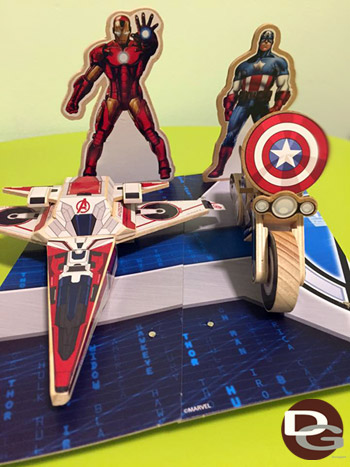 Lowe's Build and Grow Marvel Avengers Set 1 and 2