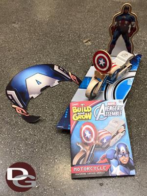 Lowe's Captain America Kit