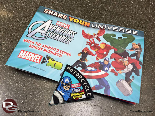 Lowe's Marvel Avengers Assemble Kid Workshops (Daynah Discovery)
